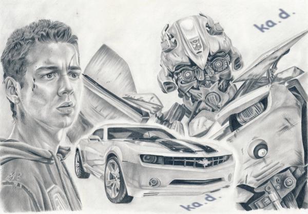 Transformers, Bumblebee, Shia LaBeouf par ka.d.